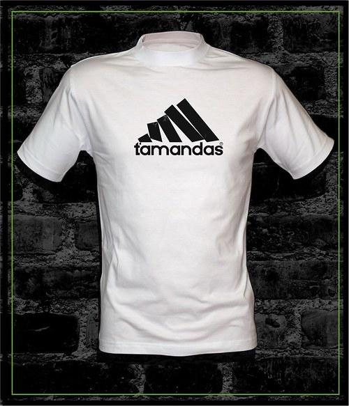 Pánské bílé tričko Ťamandas