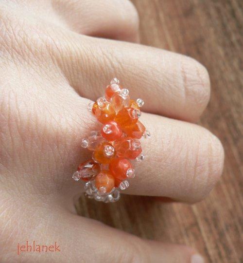 Střapáček oranžový