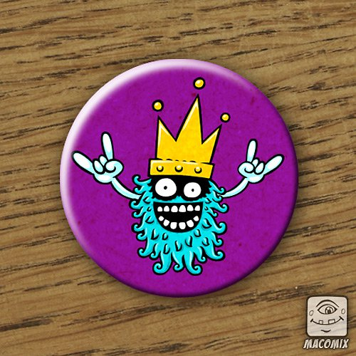 King - placka