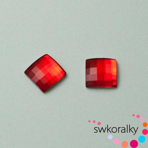 CHESSBOARD 8 SWAROVSKI ® ELEMENTS light siam ruby