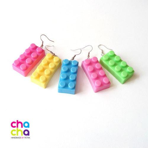 Lego náušnice
