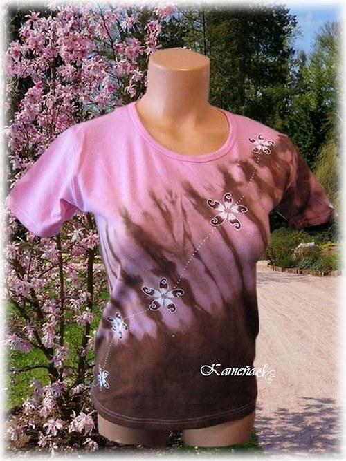 Dámské tričko s větrníčky