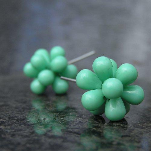 Bublinky pastelové tyrkysové