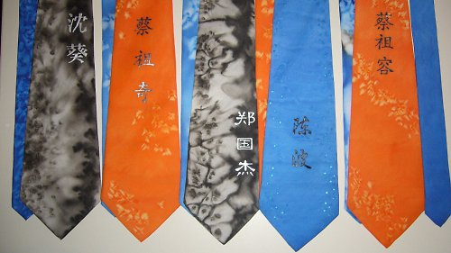 Kurz - malovani kravaty - Praha