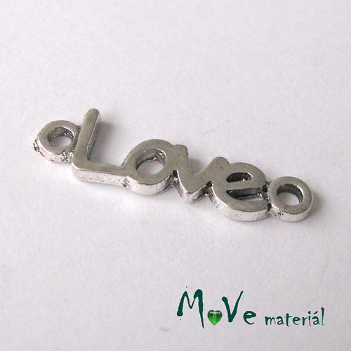 Mezikus 24x7x2mm LOVE, 2ks