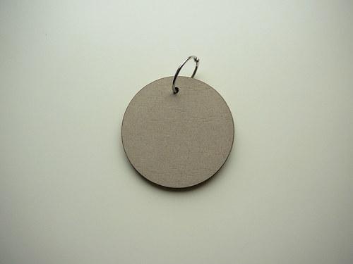 Mini chipboard album kruh 10 cm