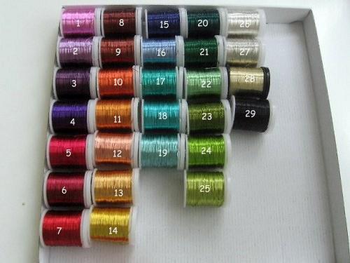 Měděné drátky - výběr barev a tloušťek