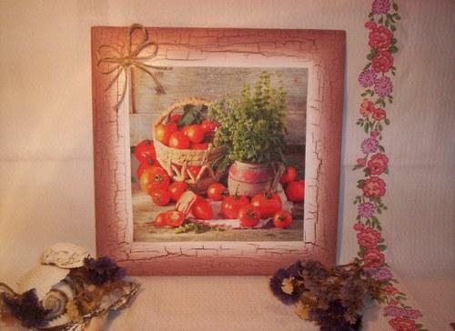 Zátiší s rajčaty
