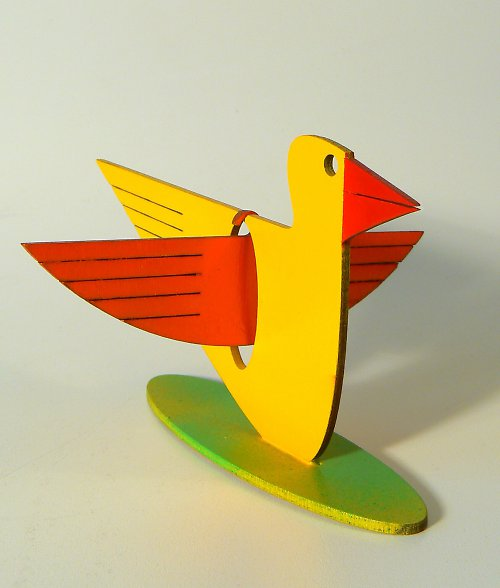 Žlutý ptáček