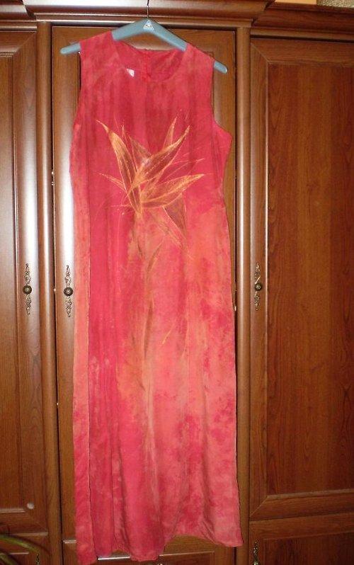 Výprodej! Ručně malované šaty