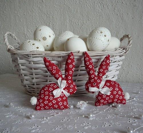 Červený zajíček