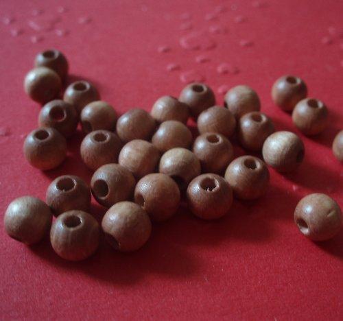 Dřevěné perle malé