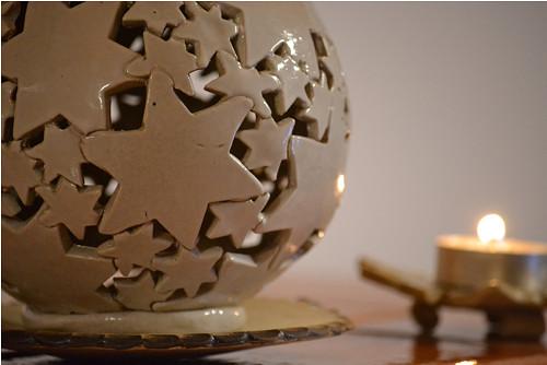 Koule-vánoční hvězdy bílé