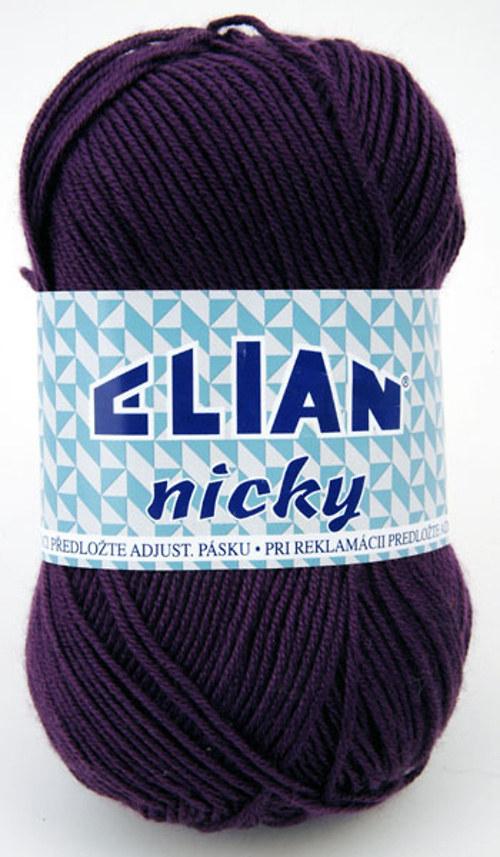 Nicky 1088 tmavě fialová