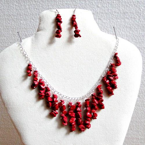 Redenitový náhrdelník