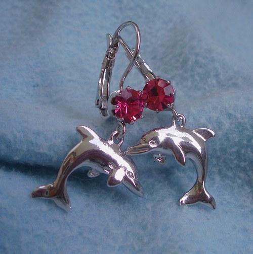 Starorůžoví delfínci