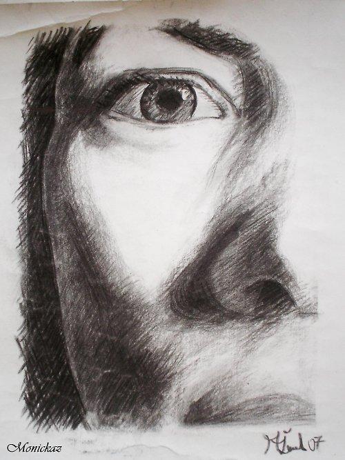Pronikavě, kresba