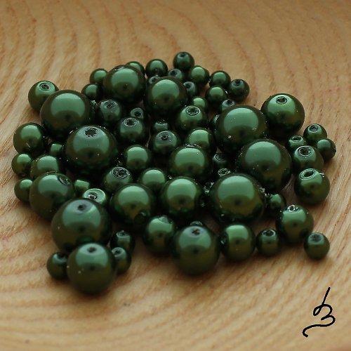 Voskové perle zelené TM - 50 g