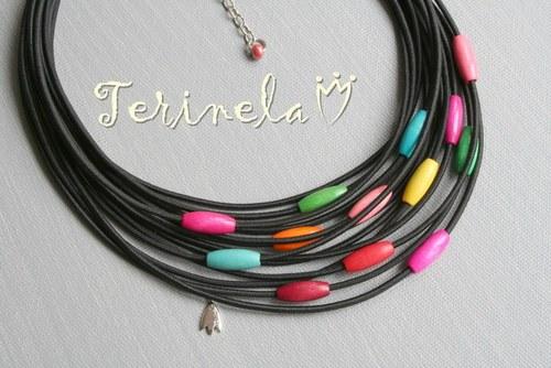 Souprava náhrdelník a náramek © design Terinela