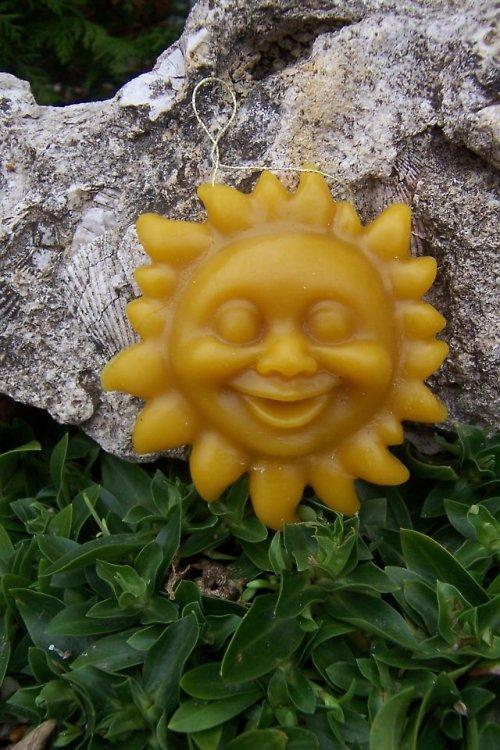 Ozdoba sluníčko 100% včelí vosk
