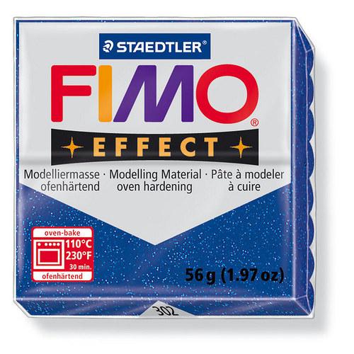 Fimo effect třpytivá modrá 302