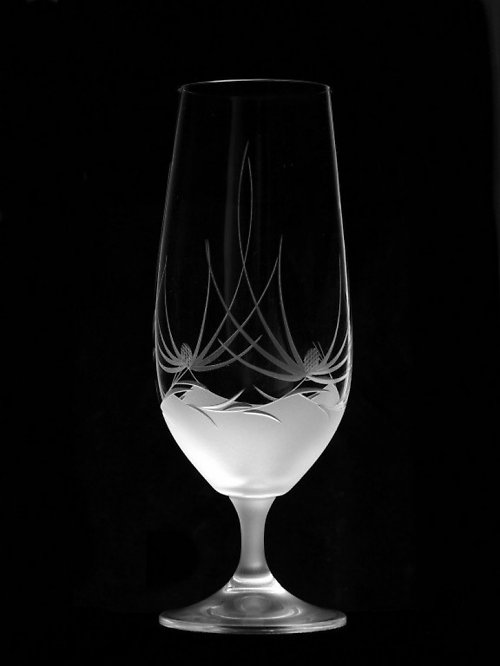 6x sklenice na pivo s motivem bodlák