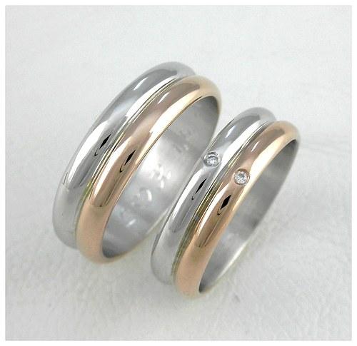 Snubní prsteny č. 39