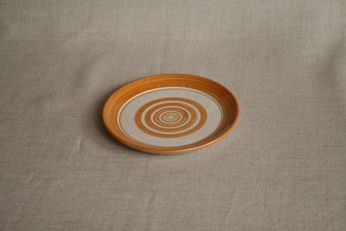 talíř dezertní-žlutý