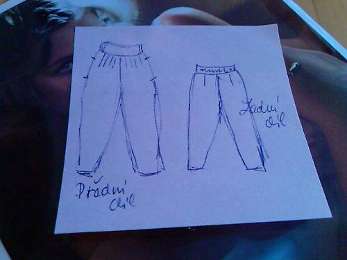 pantalone/turecké kalhoty