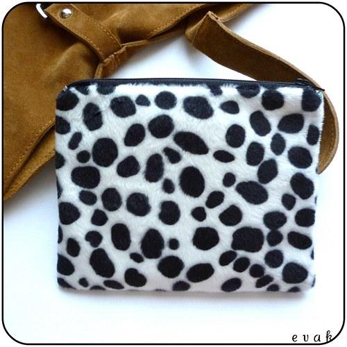 *Zimní kožešinová - taštička do kabelky