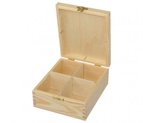 Krabička na čaj 4 DL32