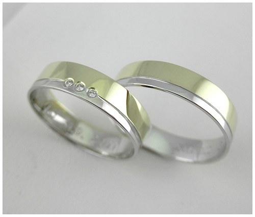 Snubní prsteny č. 21