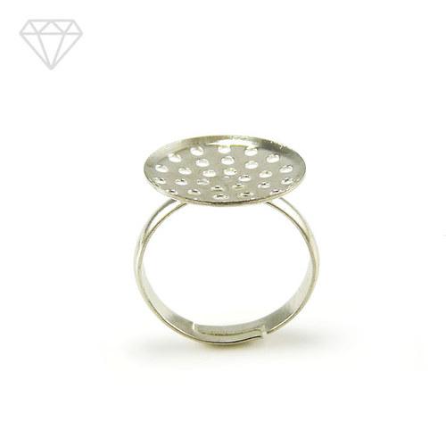-45% Prsten sítko 16 mm - stříbrná /1 ks