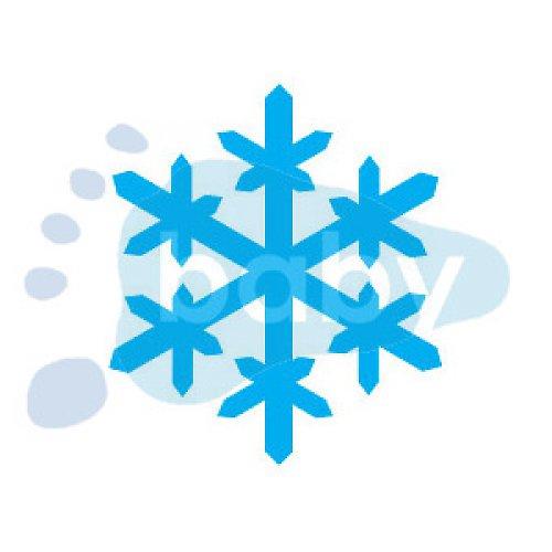 Razítko sněhová vločka 6 3 x 3,5