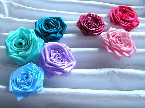 růže textilní