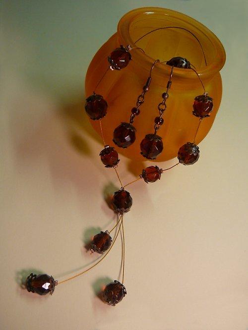 Maxi náhrdelník s ohňovkami SLEVA