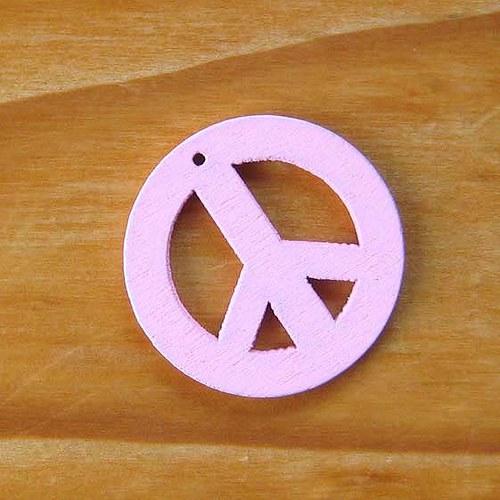 Dřevěný Hippies - Růžový