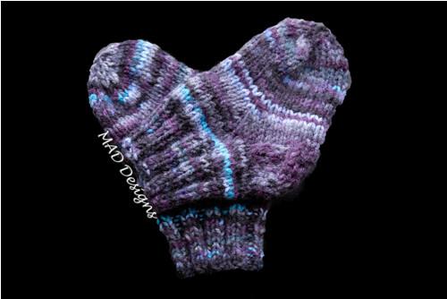 Dětské ponožky art deco s protiskluzem