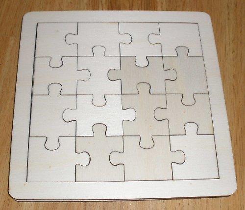Puzzle na decoupage - skládačka 1/4V ubr.