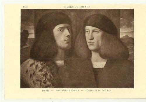 Umělecká pohlednice Cariani