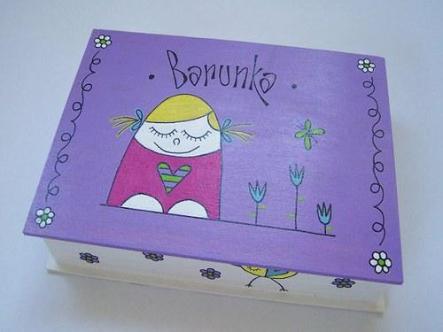 krabička BARBORKA malovaná