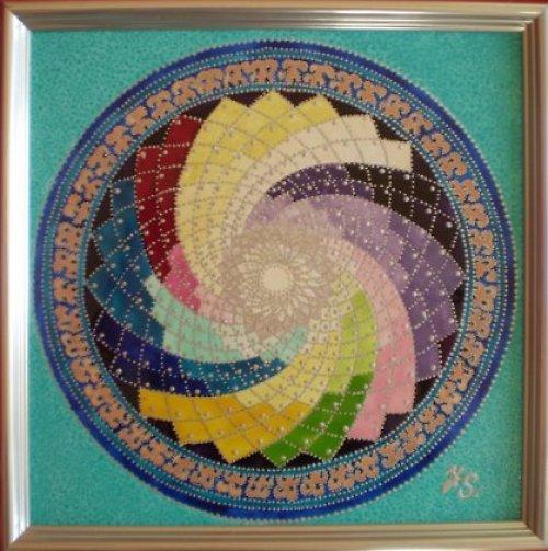 Mandala Spirála