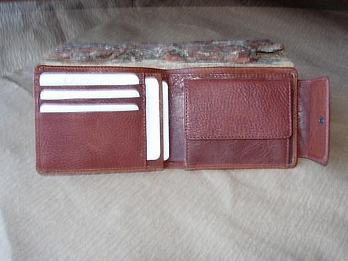 peněženka korunovka se zápinkou