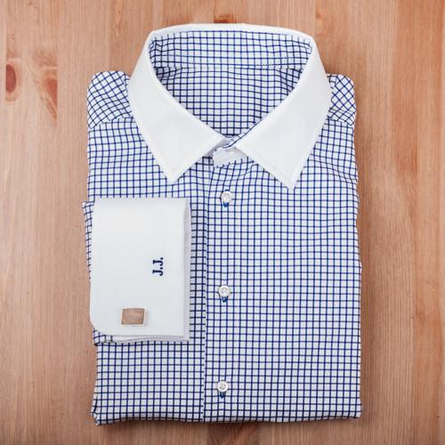 Košile - tmavě modrá kostka