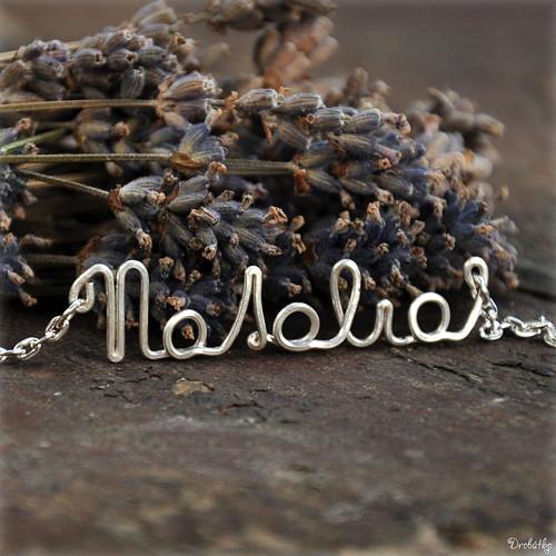"""Náhrdelník s menom / řetízek se jménem \""""Natalia\"""""""