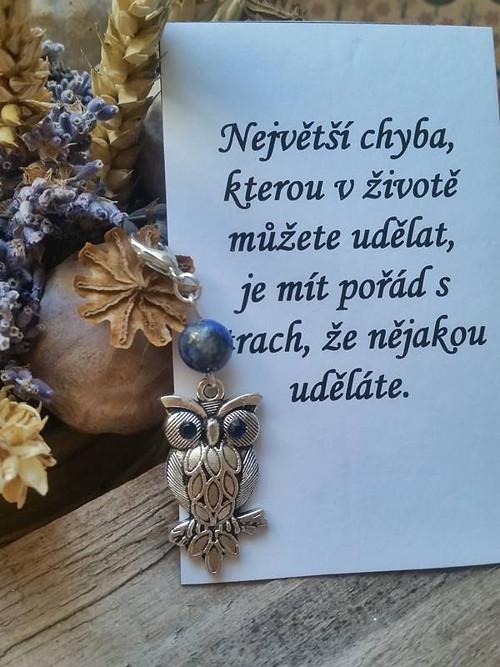 Přívěsek pro radost s citátem  (105)