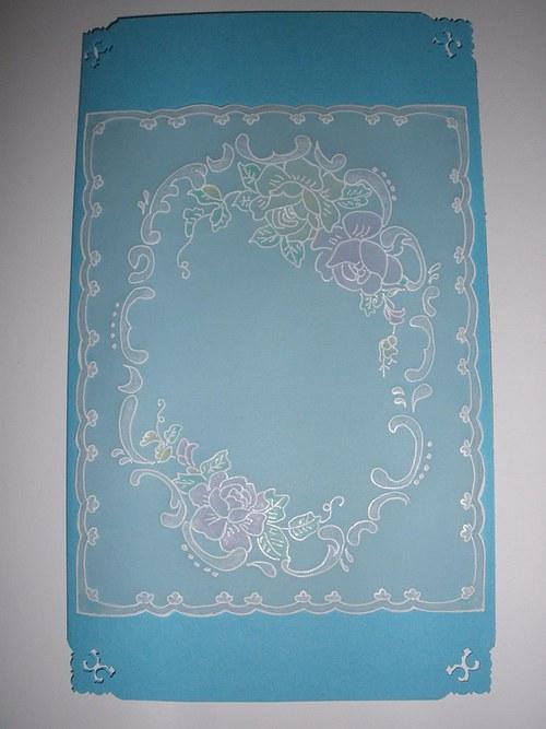 Modroučké přání pergamano