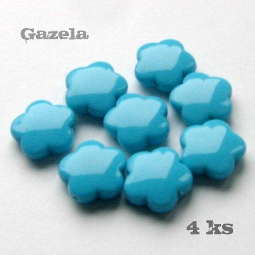 Kytičky modré - 4 ks