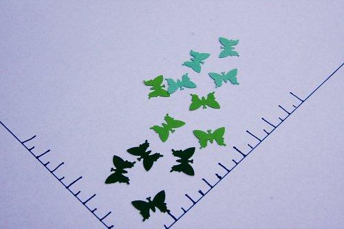 Výseky motýlci - 54 ks