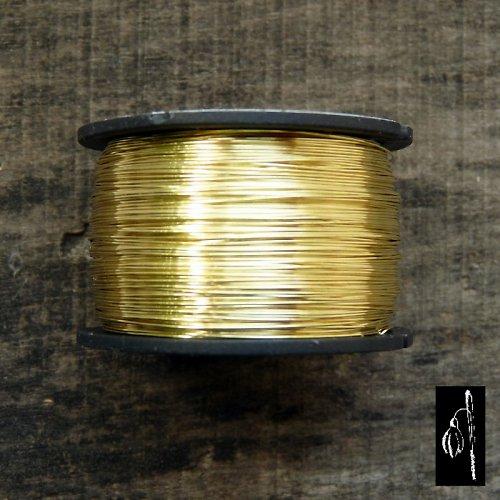 Mosazný drát 0,8, cívka 13 m